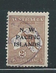 North West Pacific Islands 35 2sh Roo single Used