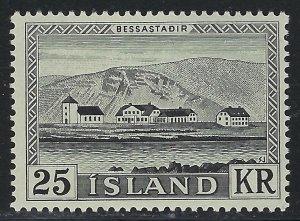 Iceland Scott 305 Mint Never Hinged