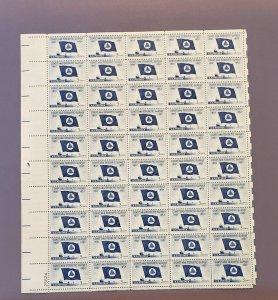1088, Coast & Geologic Society, Mint Sheet, CV $16.00