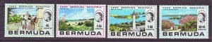 J22195 Jlstamps 1971 bermuda set mnh #276-9 views