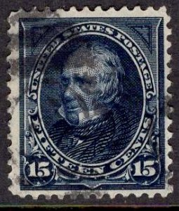 US Stamp #259 15c Clay USED SCV $65.00