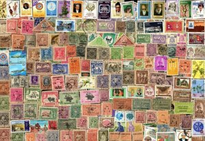 800 INDIAN STATE  Stamps Including NEPAL  ALL DIFFERENT  (C78)