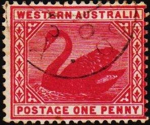 Australia(Western). 1885 1d S.G.112 Fine Used