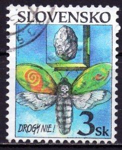 Slovakia. 1998. 323. Drug fight. USED.