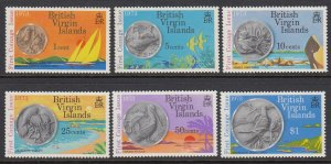 Virgin Islands 254-9 Coinage mnh