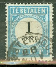 Netherlands J3a used (type I) CV $18