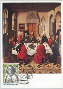 63466 -  BELGIUM - POSTAL HISTORY: MAXIMUM CARD 1975 -  ART  Europa