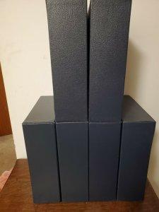 Scott Blue Slipcase Protection Cover For International Reg/Small Binder (used)