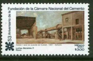 MEXICO 2225, National Cement Council 53rd Anniversary. MINT, NH. F-VF.
