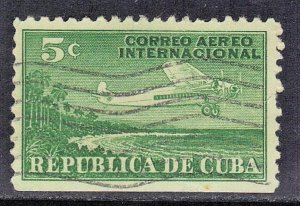 CUBA SC# C4  **USED** 1931  AIRMAIL  SEE SCAN