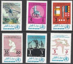 Qatar 341-6 MLH WHO 25th Anniversary
