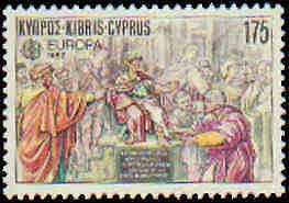 Cyprus #579-580 Never Hinged Complete Set(2)