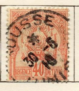 Tunis 1888 Early Issue Fine Used 40c. NW-114584