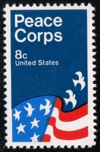 US #1447 Peace Corps Poster; MNH (0.25) (4Stars)
