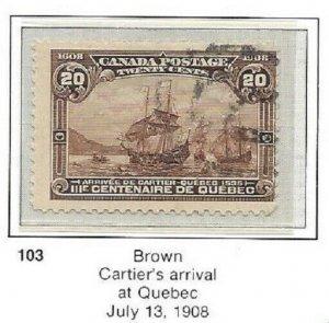 Canada 103 Used CV$225