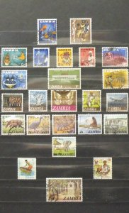 6127   Zambia   MNH/U # 5//244A   See Details for Cat. No.'s   CV$ 10.15