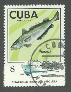 1975 Cuba Scott Catalog Number 1958 Used