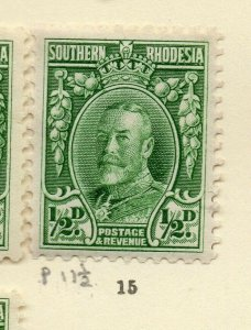 Southern Rhodesia 1930s Early Issue Fine Mint Hinged 1/2d. NW-170460