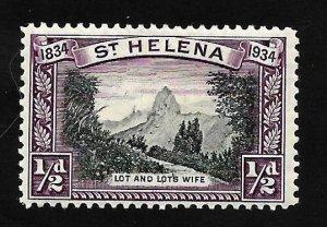 St. Helena 1934 - M - Scott #101
