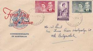 AFD1265) Australia 1954 Royal Visit set on the first 'Royal'