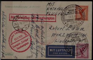 Germany Catapult card 24.5.31 Koln