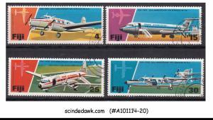 FIJI - 1976 25th ANNIVERSARY OF AIR SERVICE IN FIJI / AVIATION 4V USED