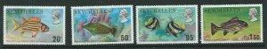 SEYCHELLES SG323/6 1974 FISH MNH