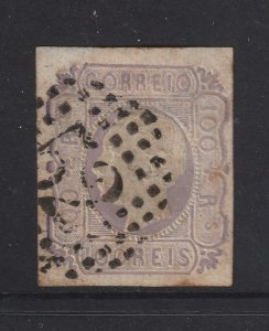 Portugal a used 100R from 1862