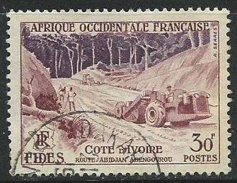 French West Africa  ^ Scott # 72 - Used