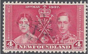 Newfoundland 1937 #231 Used
