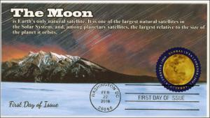 2016, The Moon, $1.20 Global, FDC, BW Cancel, 16-053