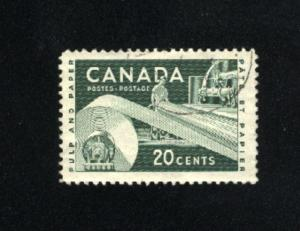 Canada  362  -2  used VF PD 1956