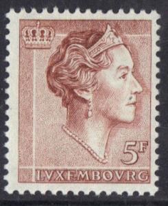 Luxembourg  1960 MNH  Grand Duchess 5f   #