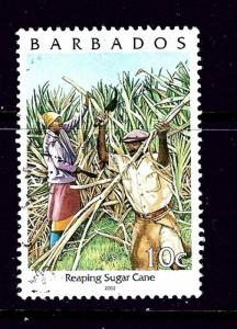 Barbados 983a Used 2002 Reaping Sugar Cane