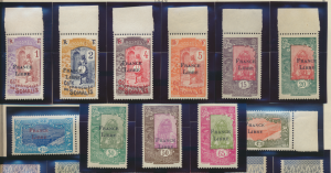 Somali Coast (Djibouti) Stamps Scott #183-93 Mint Never Hinged With Tabs/Selv...