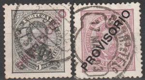 Portugal #81, 84 F-VF  Used  CV $12.00 (C5272)