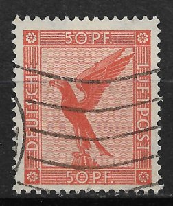1926 Germany C31 Eagle 50pf used.