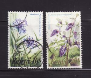 Kenya 259-260 U Flowers (C)