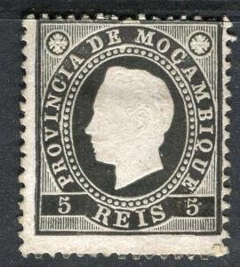 PORTUGUESE MOZAMBIQUE; 1886 classic Luis issue Mint unused 5r. value,