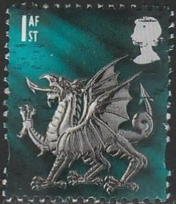 Great Britain, #14 Used From Wales, 1999-2002