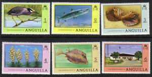 Anguilla #275-80 mint, various animals