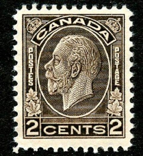 Canada Scott 196 in MNH Picturing King George V