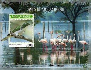 Z08 IMPERF MOZ190430b MOZAMBIQUE 2019 Birds of Mozambique MNH ** Postfrisch