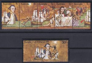 Australia 477-482 MNH (1970)