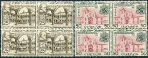 Colombia C265-C266 blocks/4,MNH.Mi 711-712. Senior College of Our Lady.1954.