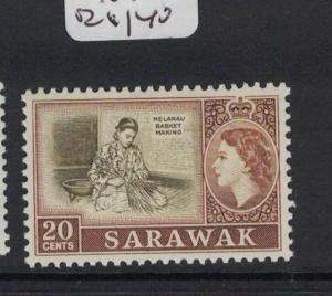 Sarawak SG 210 MNH (3dot)