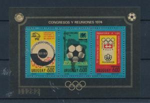 [44495] Uruguay 1974 Sports World Cup Football Olympic games UPU MNH Sheet