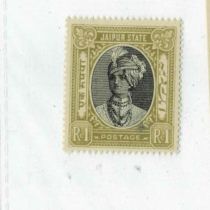 INDIA / JAIPUR KGV1 1943-46  sg no 67  mnh