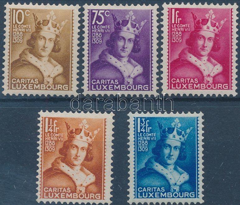 Luxemburg stamp Caritas set Hinged 1933 Mi 252-256 WS164171