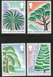 Great Britain Scott 1322-5 MNH** 1990 Garden set